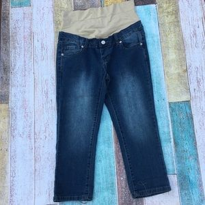 Expected by Lilac skinny crop jeans NWOT